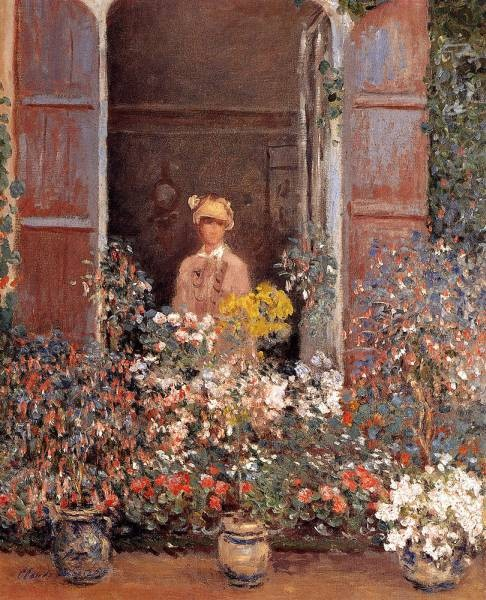 Monet Claude Camille At The Window
